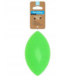 PULLER Pitch Dog sport Rugby míč 9 cm x 14 cm zelený
