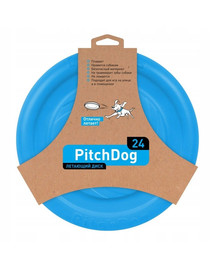 PULLER Pitch Dog Létající talíř modrý 24 cm