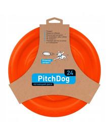 PULLER Pitch Dog Létající talíř oranžový 24 cm
