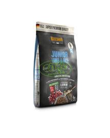 BELCANDO Junior Lamb & Rice M-L 4 kg granule pro psy od 4 měsíců