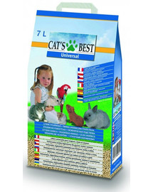 JRS Cat'S best universal 7l (4 kg) + Lopatka do toalety ZDARMA