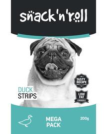 SNACK & ROLL Duck Strips 3x200 g 2+1 ZDARMA