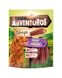 PURINA Adventuros Strips 6x90g