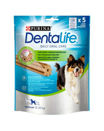 PURINA Dentalife Medium 6x115g (30ks) dentální pamlsky pro psy středních plemen