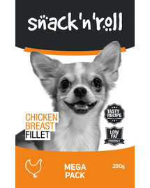 SNACK & ROLL Chicken Breast Fillet 3x200 g 2+1 ZDARMA