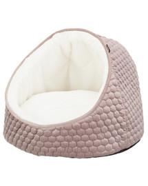 TRIXIE Uzavřený pelíšek pro psy Livia 45 × 33 cm růžový