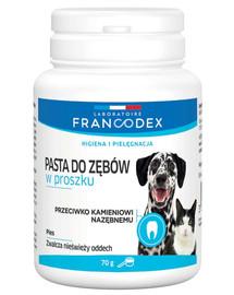 FRANCODEX Zubní pasta 70g pro psy a kočky