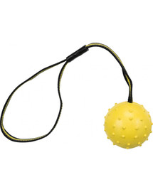 TRIXIE Sporting míč tvrdý na nylon. pásku přírodní guma 6 cm 35 cm