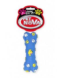 PET NOVA DOG LIFE STYLE Kostěná hračka pro psy 15cm modrá