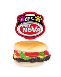 PET NOVA DOG LIFE STYLE Hamburger hračka pro psy 9 cm