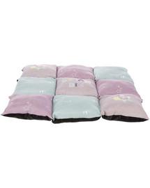 TRIXIE Junior Patchwork fialová/mátová/růžová60x60cm