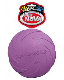 PET NOVA DOG LIFE STYLE gumové frisbee 15cm fialová barva