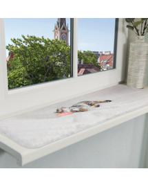 TRIXIE Lehací podložka NANI na okenní parapety 90 x 28 cm šedá