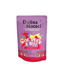 DOLINA NOTECI SuperFood Srnčí a hovězí 300 g