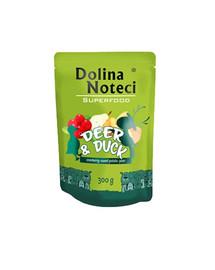 DOLINA NOTECI SuperFood Jelen a kachna 300 g