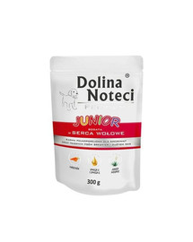 DOLINA NOTECI Premium Junior Bohatá na vepřové srdce 300g