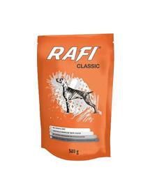 DOLINA NOTECI Rafi Classic 500 g kapsička pro psy