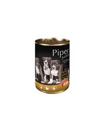 DOLINA NOTECI PIPER Junior kuřecí žaludky a hnědá rýže 400g