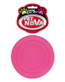 PET NOVA DOG LIFE STYLE Frisbee 18cm růžová, mátová vůně