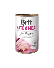 BRIT Paté & Meat Puppy 400 g