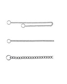 TRIXIE Obojek kovový stahovák 35 cm / 2 mm 1-řadý