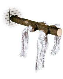 TRIXIE Dřevěné bidélko s bavlnou 25 cm