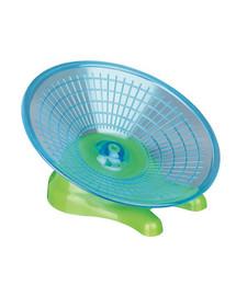 TRIXIE Běhací kolečko - létající talíř pro křečka a myši. Ø 17 cm