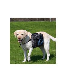 TRIXIE Ruksak na záda pro psa 28 x 18 cm černý L