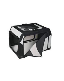 TRIXIE Transportní box vario nylon černo-šedý 76 × 48 × 51 cm
