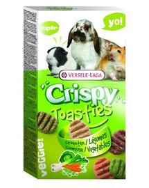 VERSELE-LAGA Prestige 150 g crispy toasties zelenina pro hlodavce