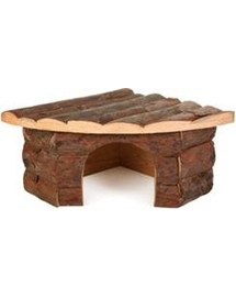 TRIXIE Rohový dřevěný domeček Jesper 42 x 15 x 30 cm