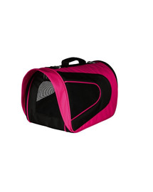TRIXIE Cestovní taška alina nylon 22 x 23 x 35 co růžovo-černá