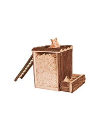 TRIXIE Dřevěná věž pro křečky 25 x 24 x 20 cm