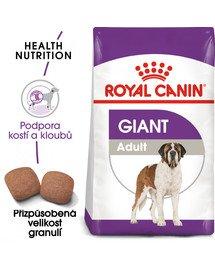 ROYAL CANIN Giant adult 15 kg granule pro dospělé obří psy