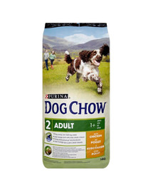 PURINA Purina dog chow adult chicken 14 kg