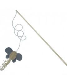 COMFY Hračka udička s motýlem 40cm