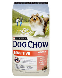 PURINA Dog Chow Adult Sensitive losos 14 kg