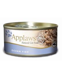 APPLAWS konzerva Cat mořské ryby 156g