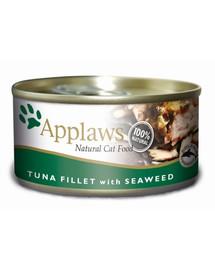 APPLAWS Cat tuňák a mořské řasy 156g