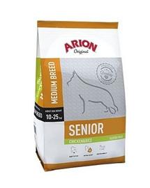 ARION Original Adult Medium Senior kuřecí & Rice 12 kg