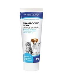 FRANCODEX Jemný šampón pro kočku a štěňata 200 ml