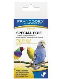 FRANCODEX čistič jater pro ptáky15 ml