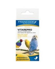 FRANCODEX Vitamíny podporující plodnost a reprodukci ptáků 15 ml