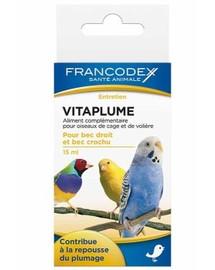 FRANCODEX Vitamíny na zdravé opeření 15 ml