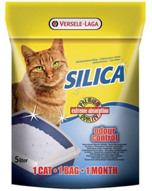 VERSELE-LAGA Cat Litter Silica - Kočkolit silikonový 5 l