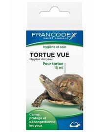 FRANCODEX Kapky na čištění očí želvy 15 ml