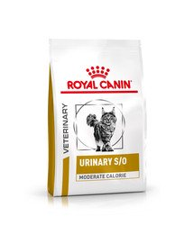ROYAL CANIN Veterinary Health Nutrition Cat Urinary S/O Moderate Calorie 3.5 kg