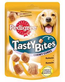PEDIGREE Tasty Bites Chewy Cubes 6x 130G