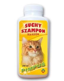 BENEK Šampón pro kočky suchý pimpus 250 ml