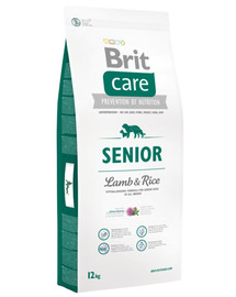BRIT Care Dog Senior Lamb&Rice 12kg